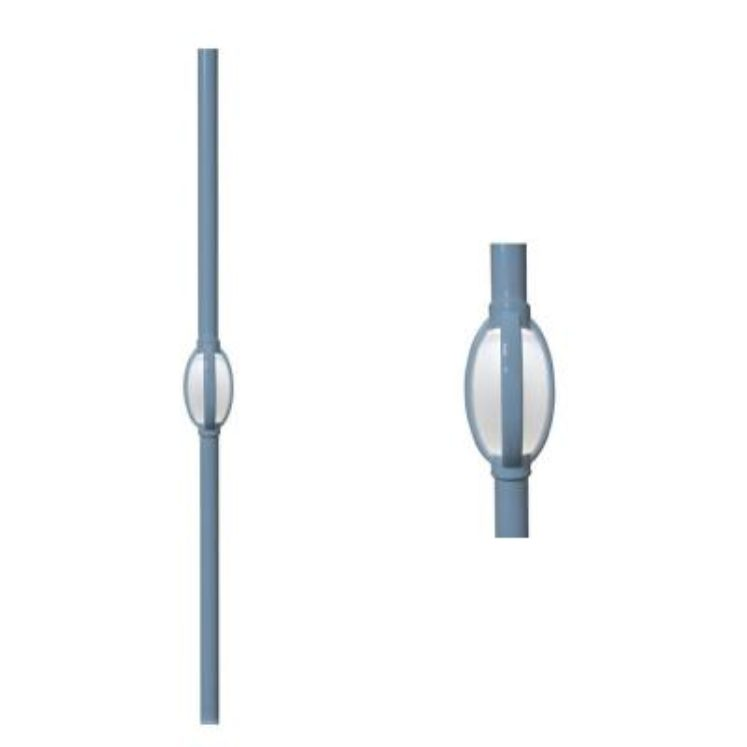 Single Tear Lighted Baluster