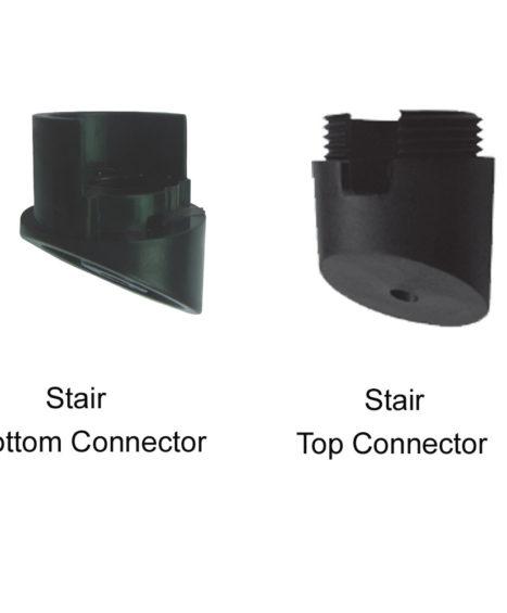 Round Baluster Stair Rail Mounting Hardware (10-Pack)