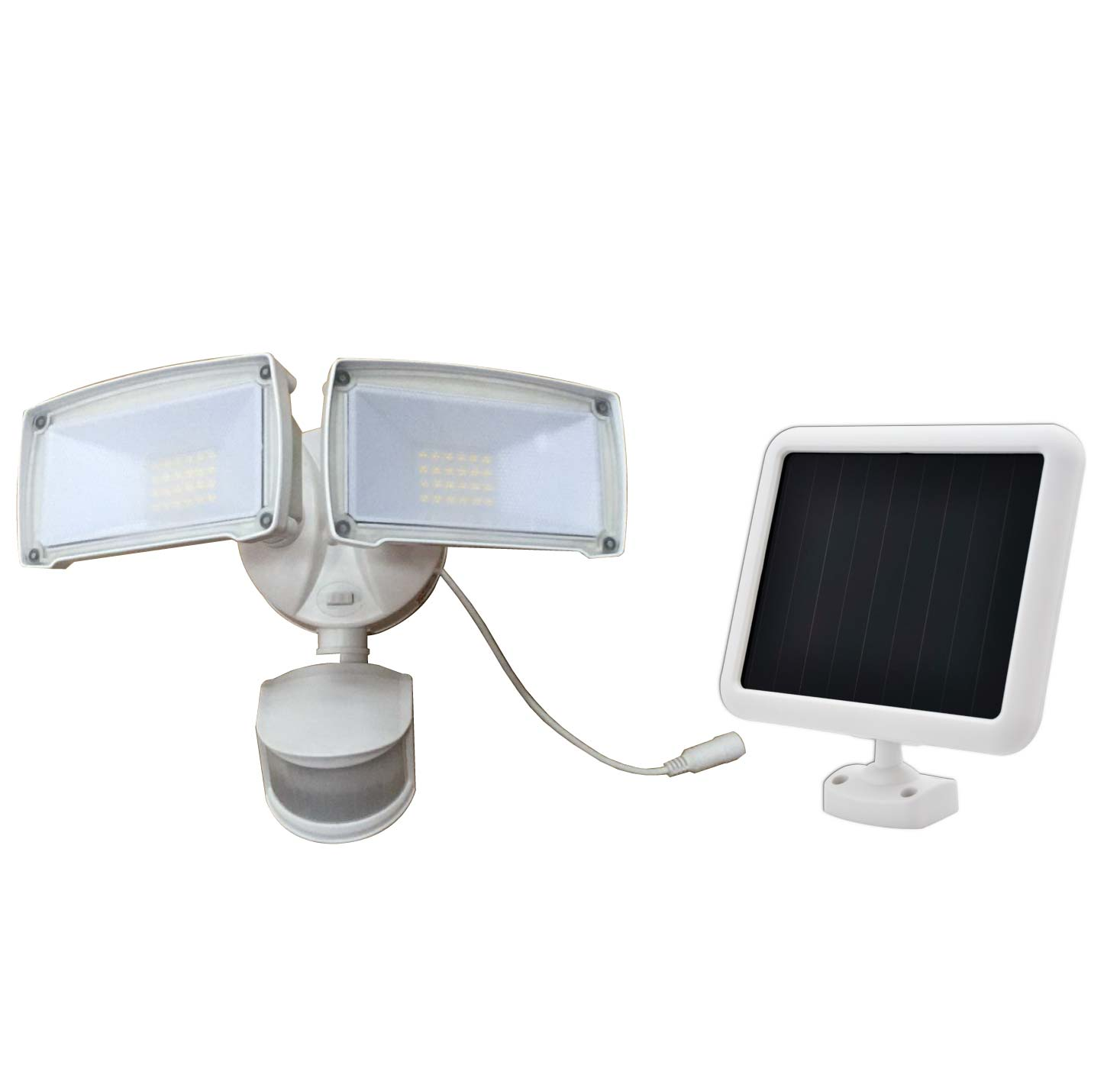 security led dp amazon sun head com force by activated triple light motion solar lighting sunforce