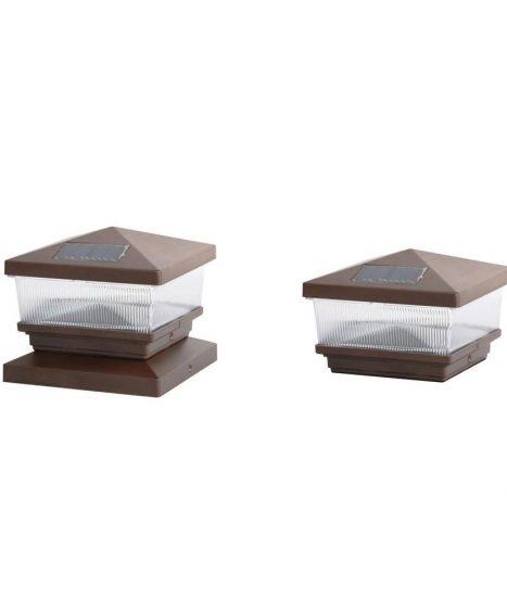 Solar Bronze Post Cap (2-pack)